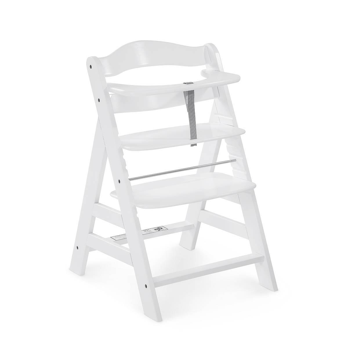 Chaise haute blanc