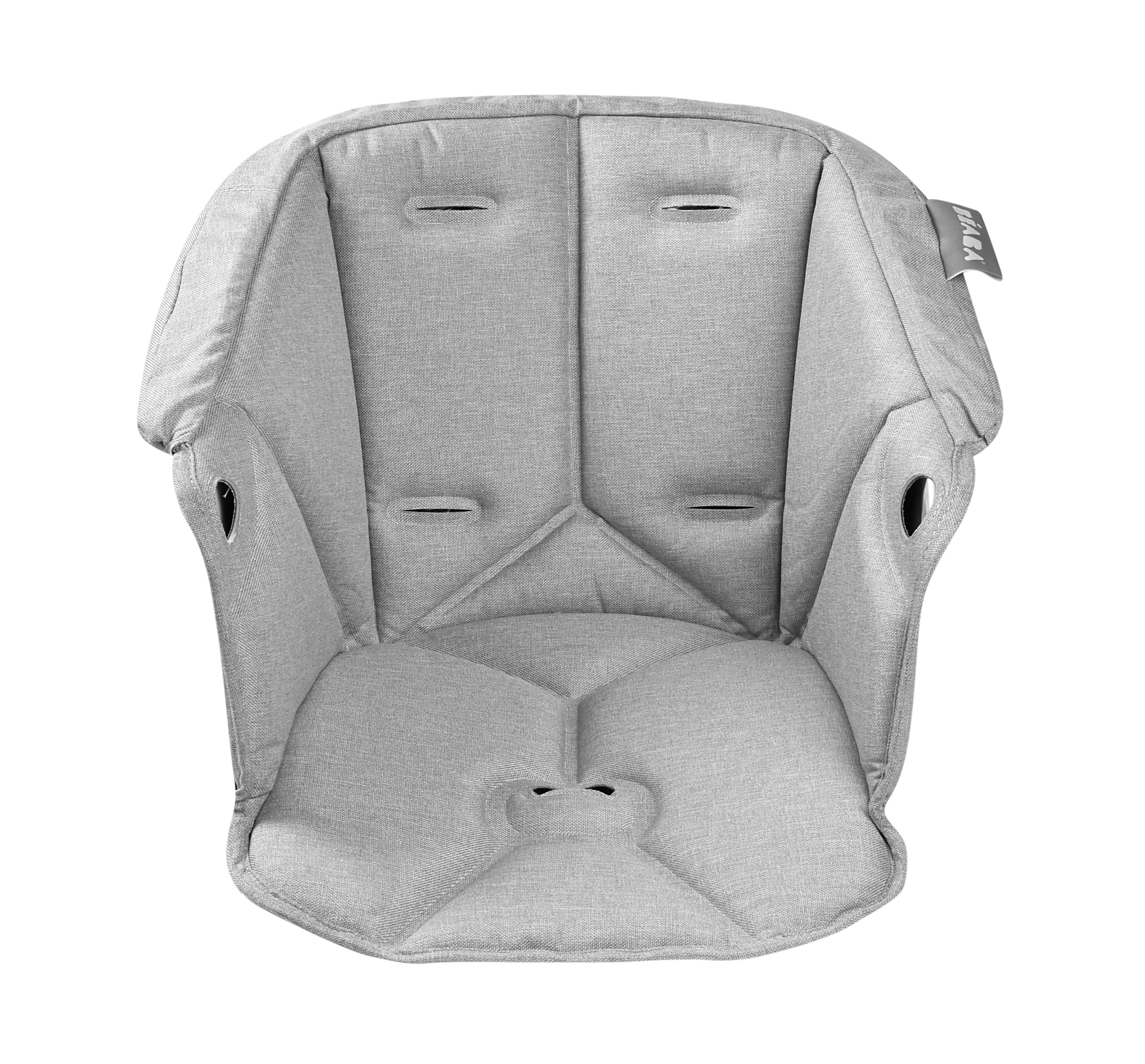 Assise pour chaise haute ajustable grise
