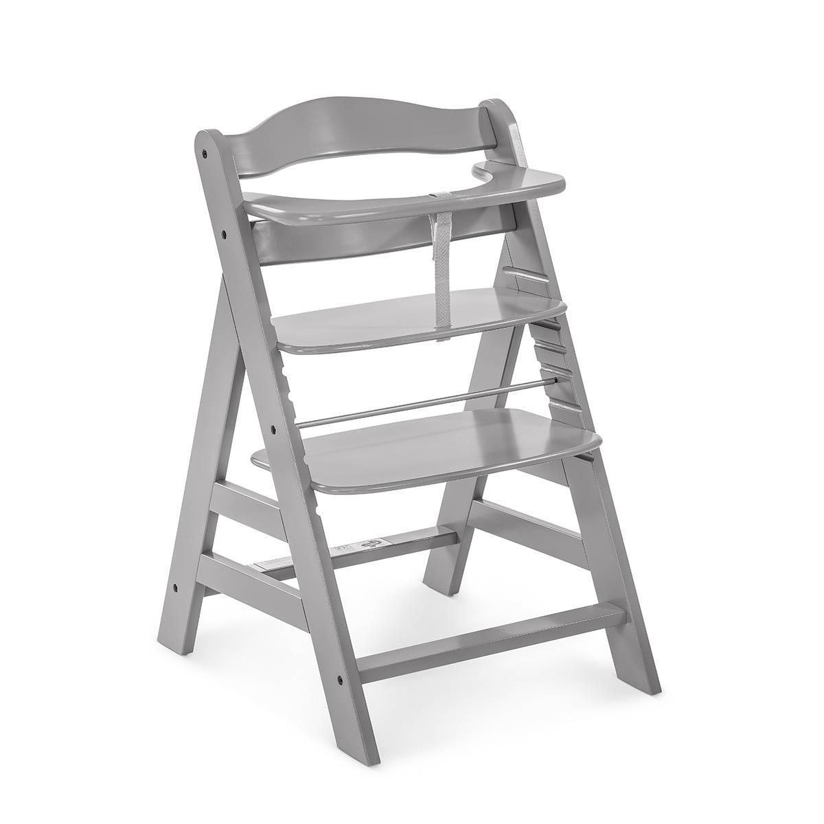 Chaise haute gris