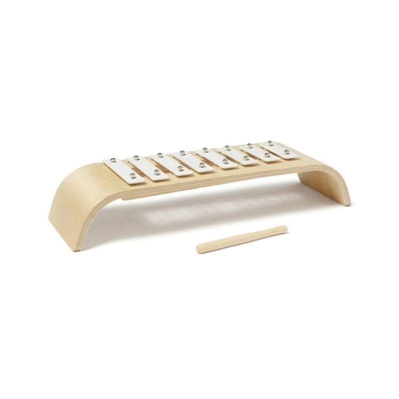 Xylophone en bois blanc