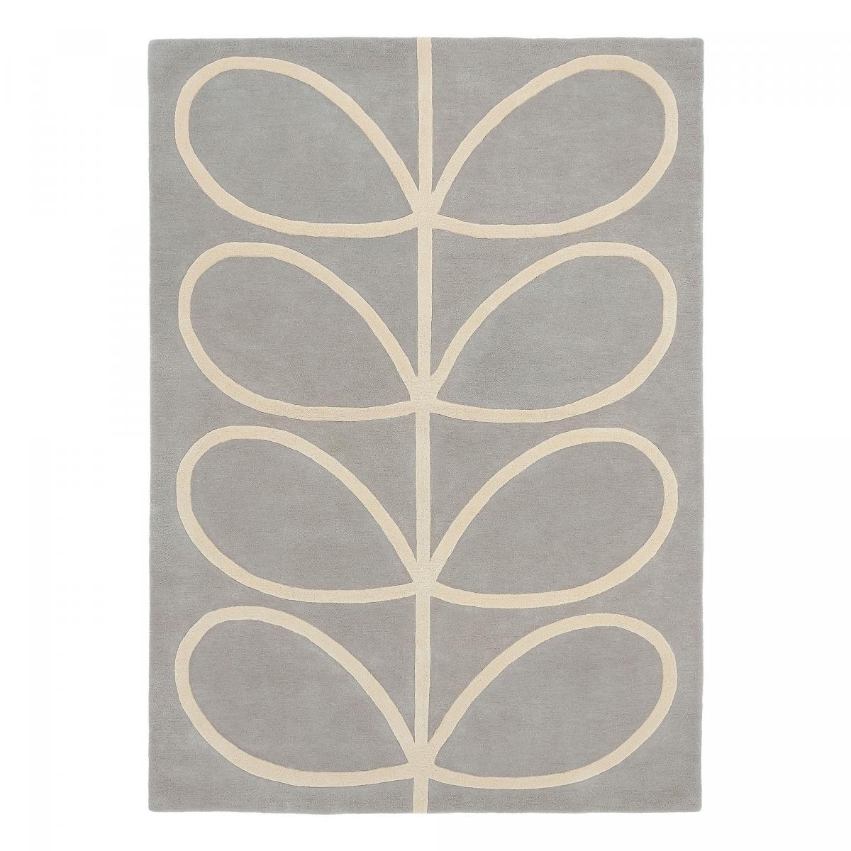 Tapis design en laine gris 120x180