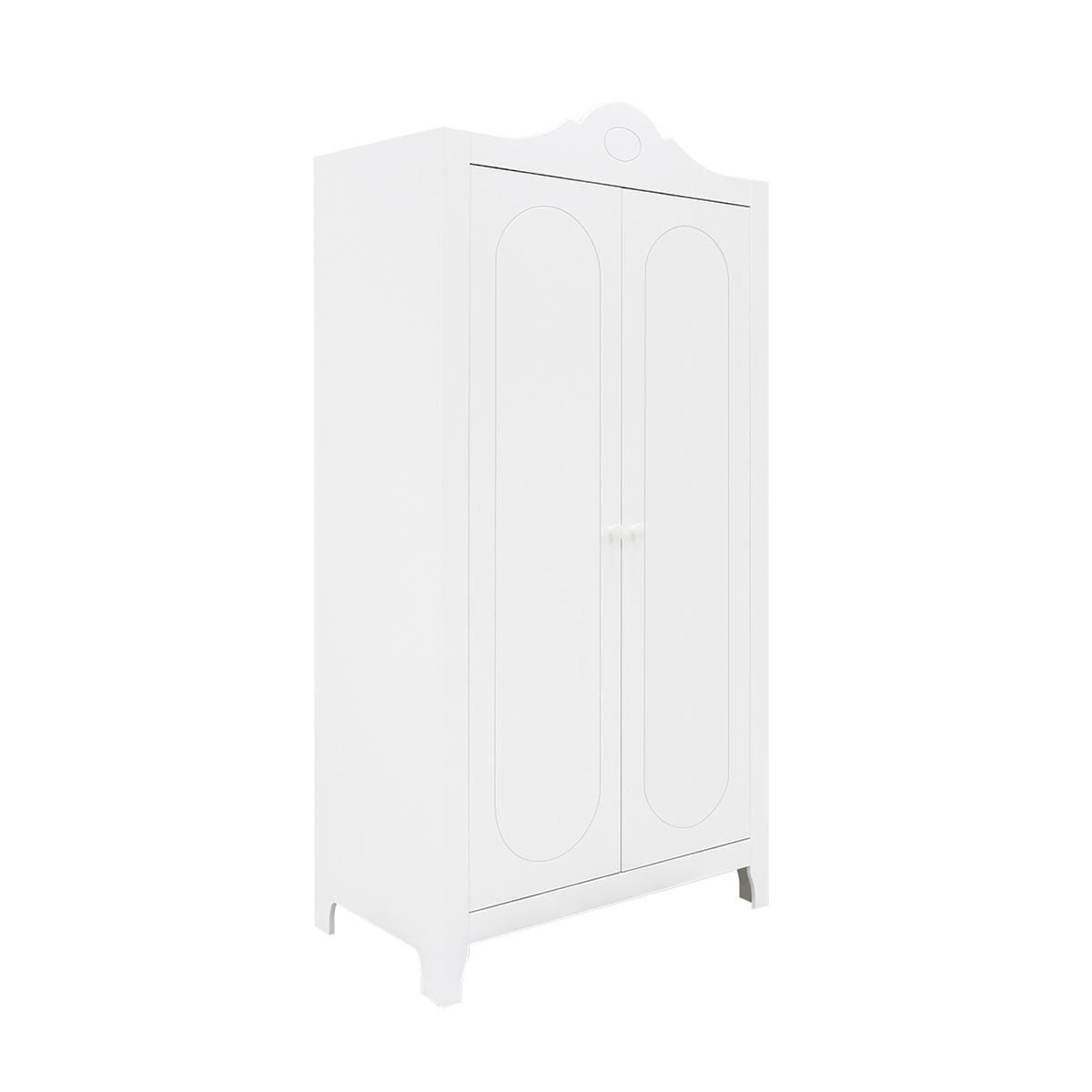Armoire 2 portes blanc