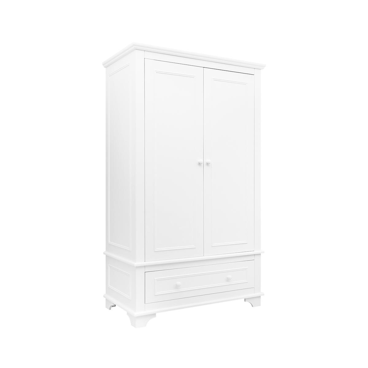 Armoire 2 portes xl blanc