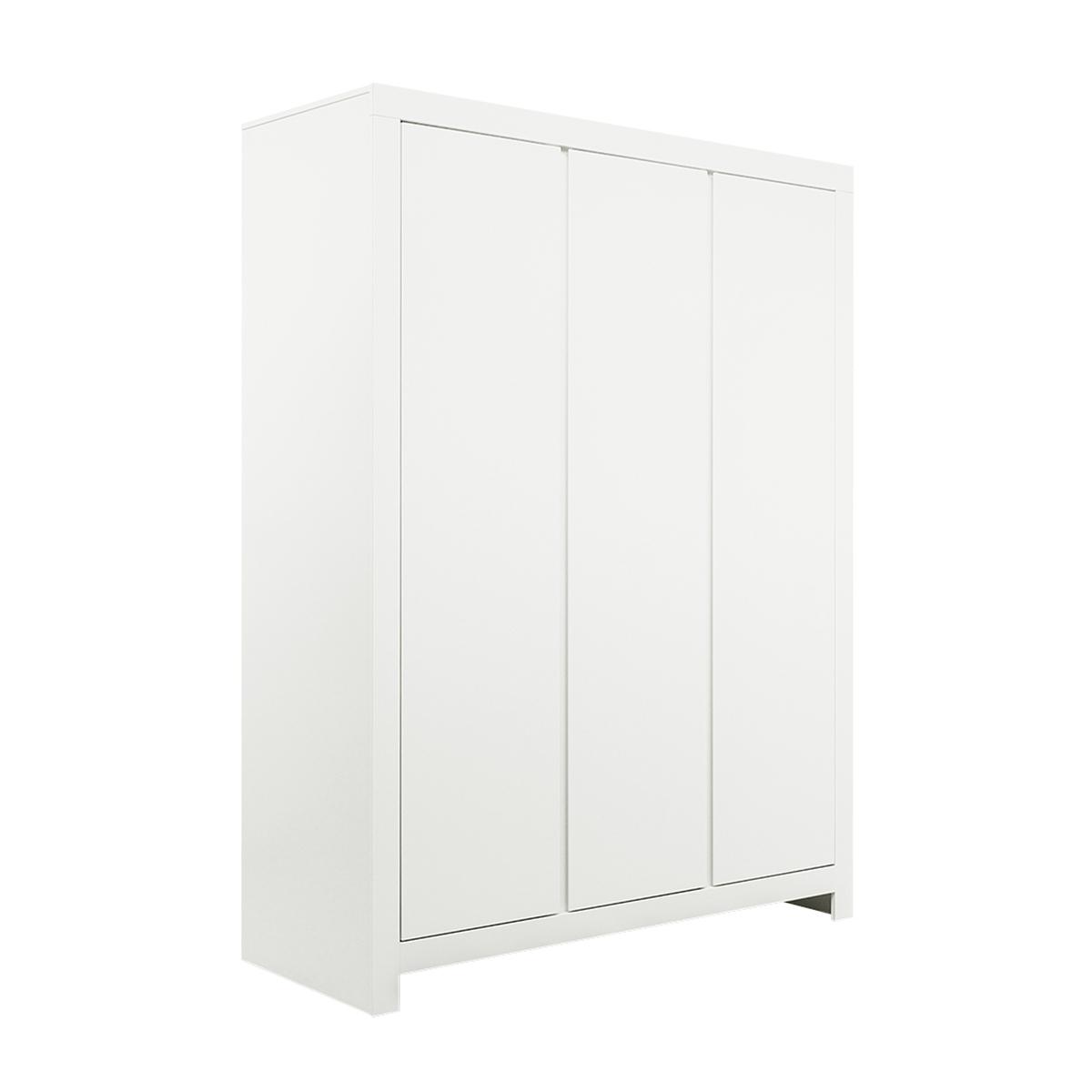 Armoire 3 portes blanc