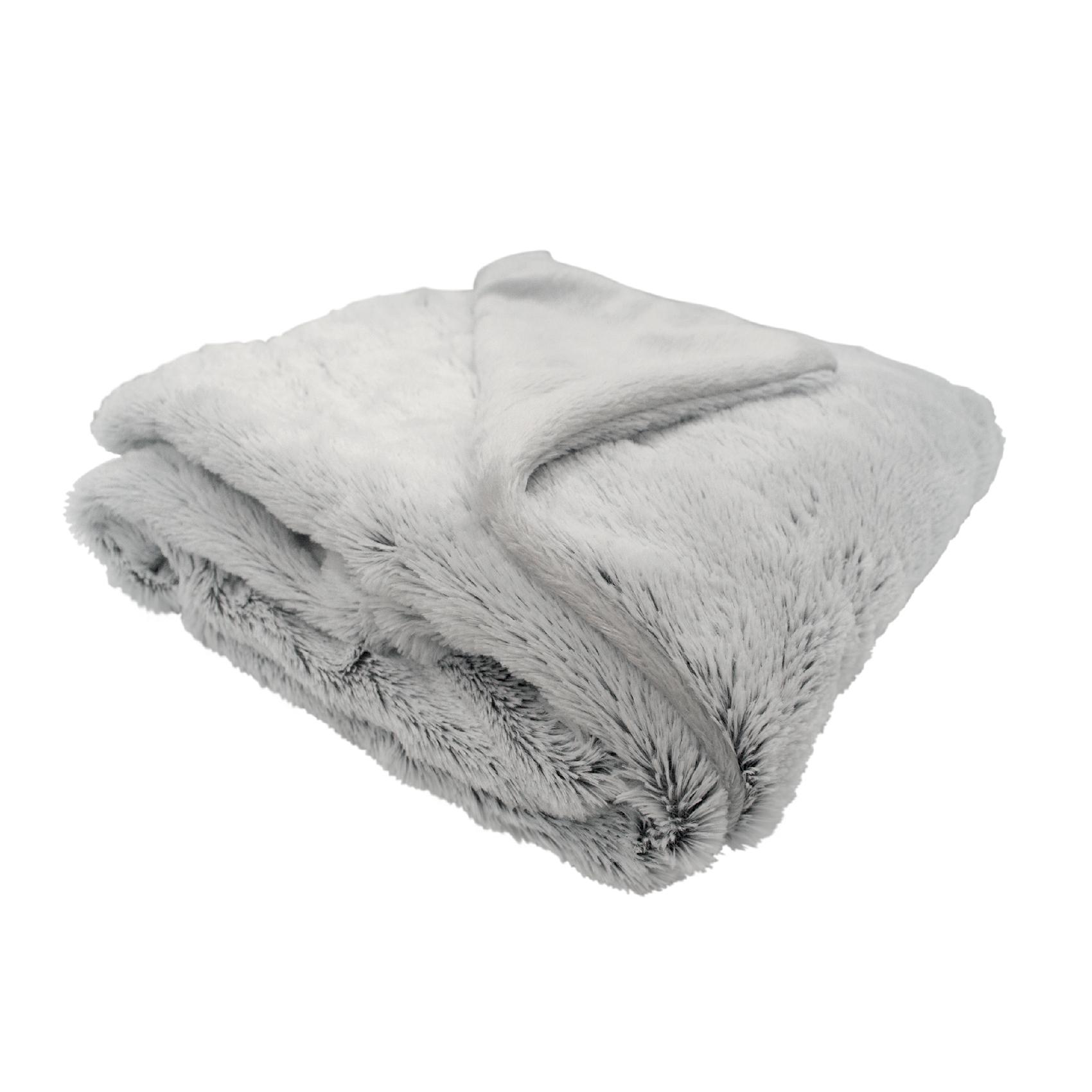 Couverture bébé snow doublée en coton Gris 75x100