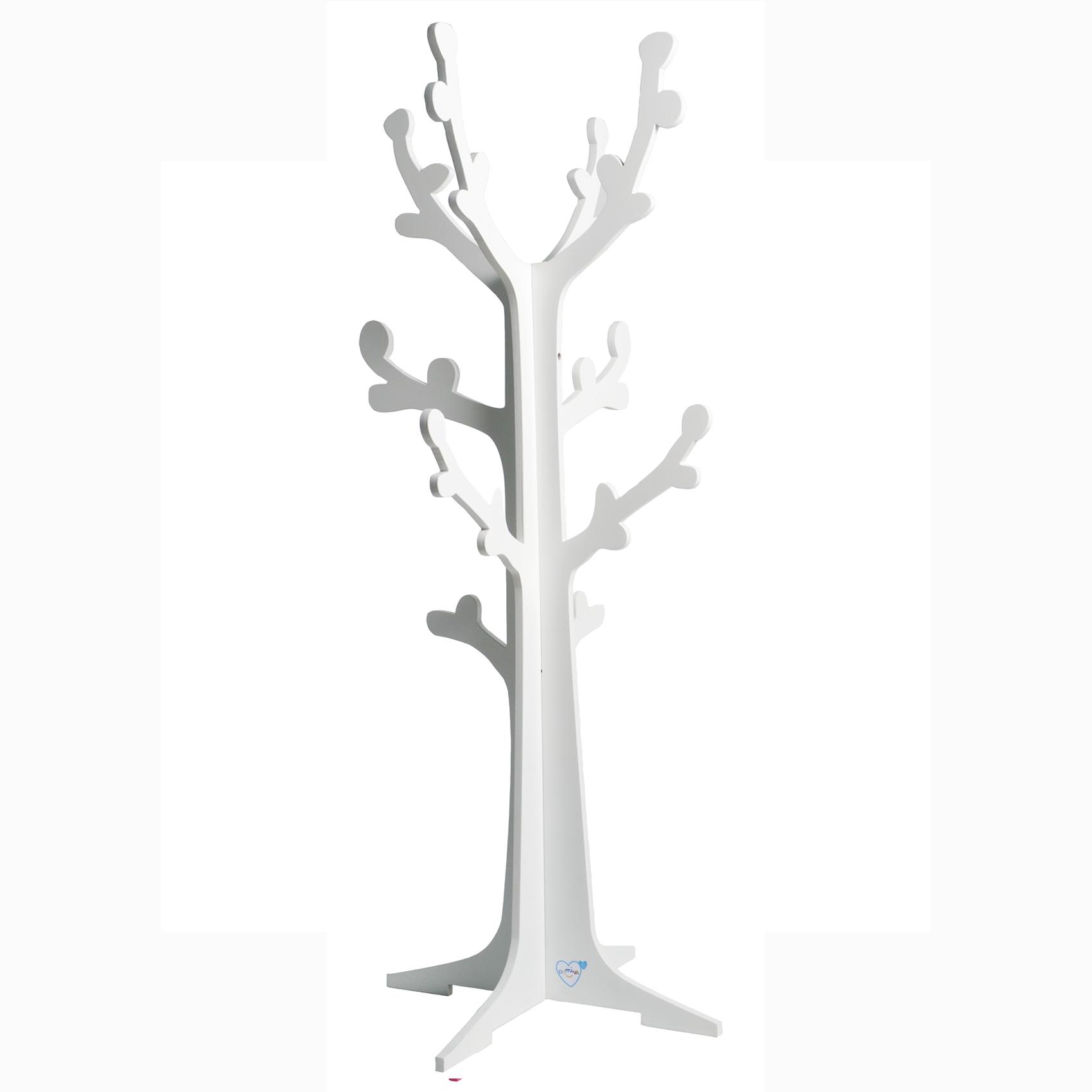 Arbre portant en forme de cerisier enfant Blanc 45x120