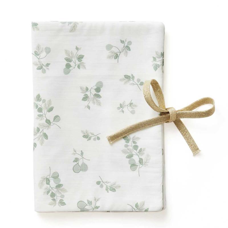 Protège carnet de santé coton bio imprimé figuier