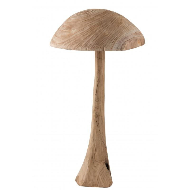 Champignon en châtaignier naturel H81,5cm