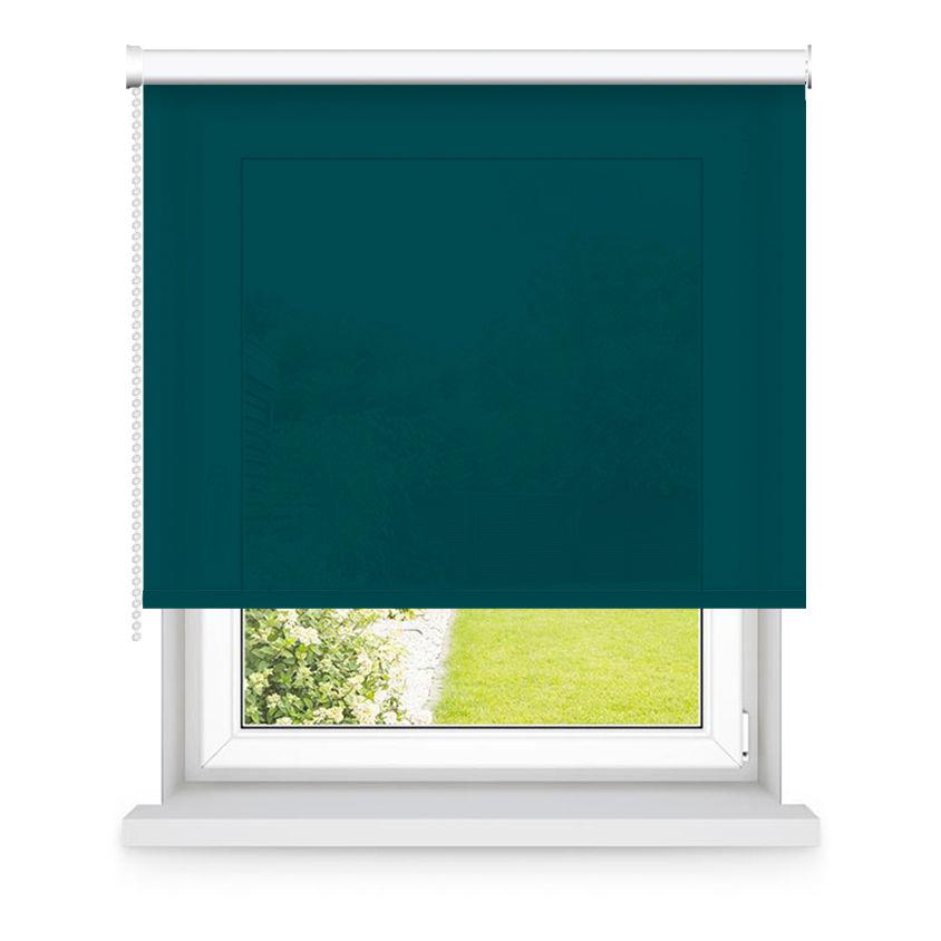 Store enrouleur tamisant vert L120x H250cm