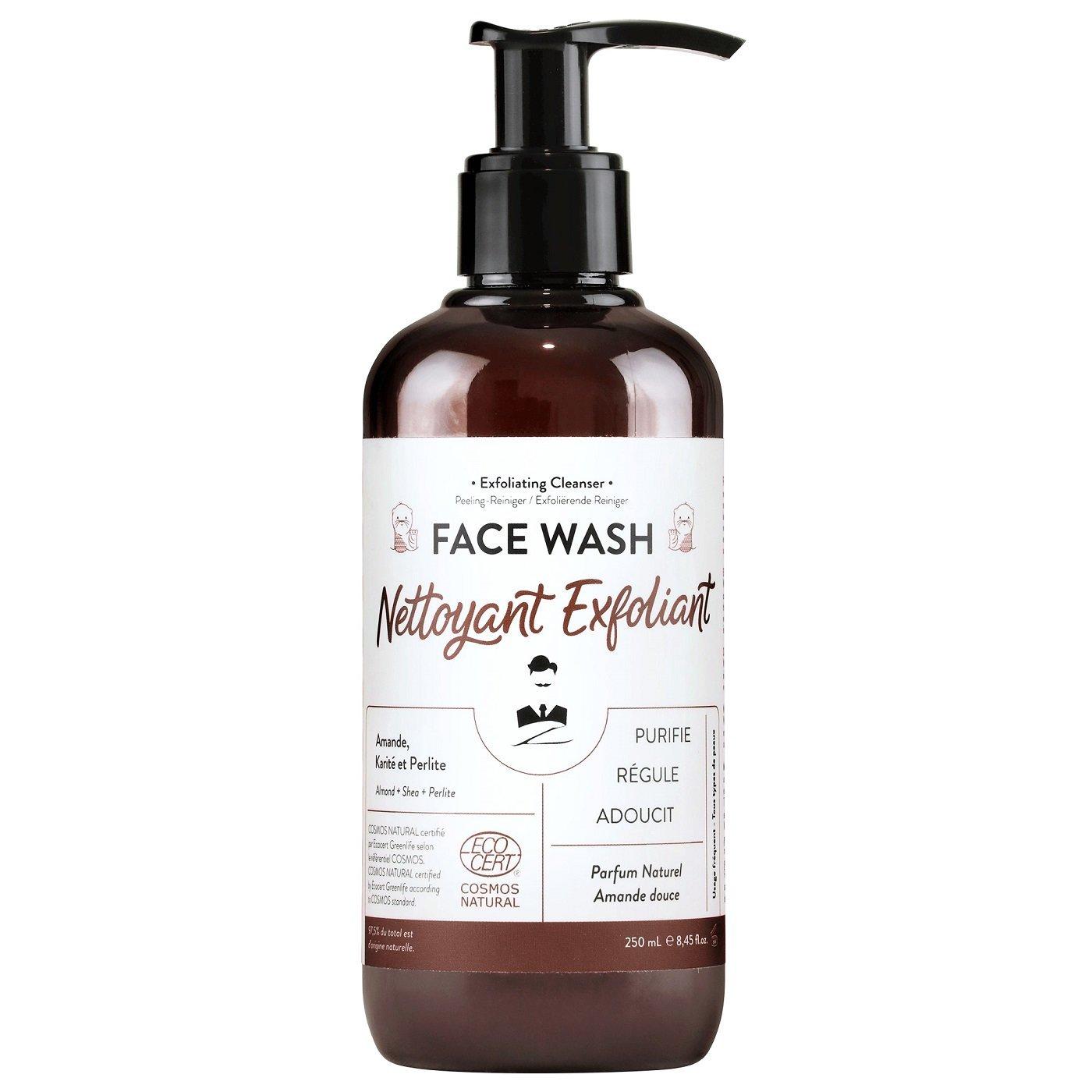 Nettoyant exfoliant face wash 250 mL