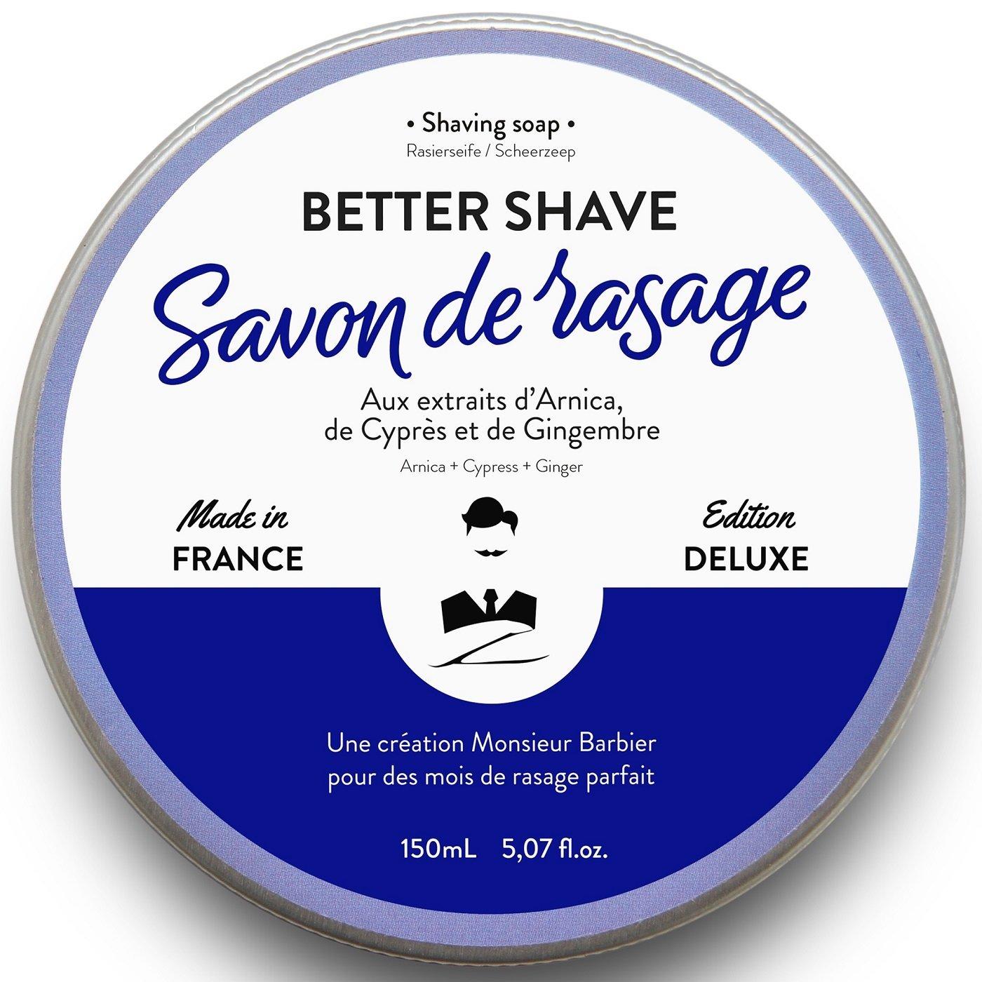 Savon de rasage better shave 150 mL