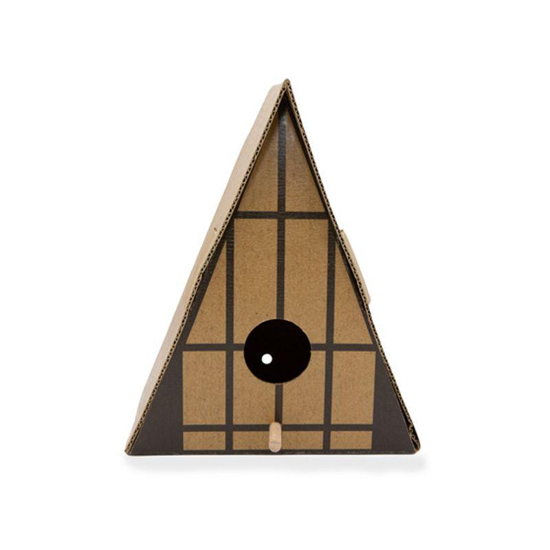 Fabriquez votre nichoir à oiseaux triangulaire - Coffre