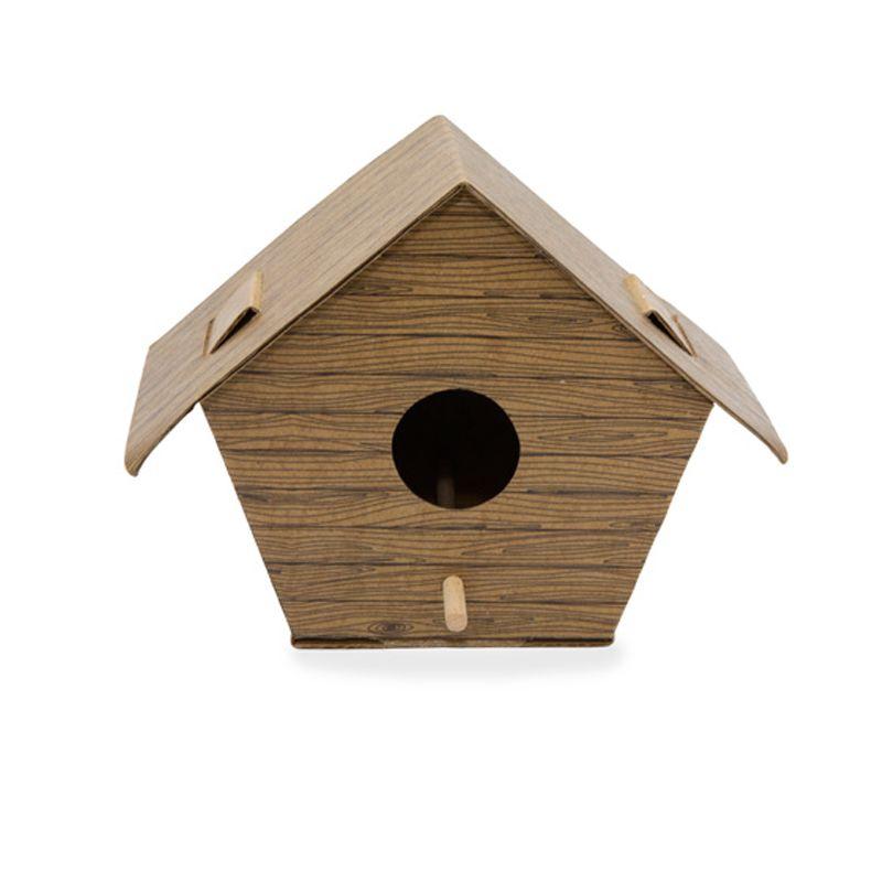 Nichoir à oiseaux hexagonal à fabriquer - Coffret DIY E