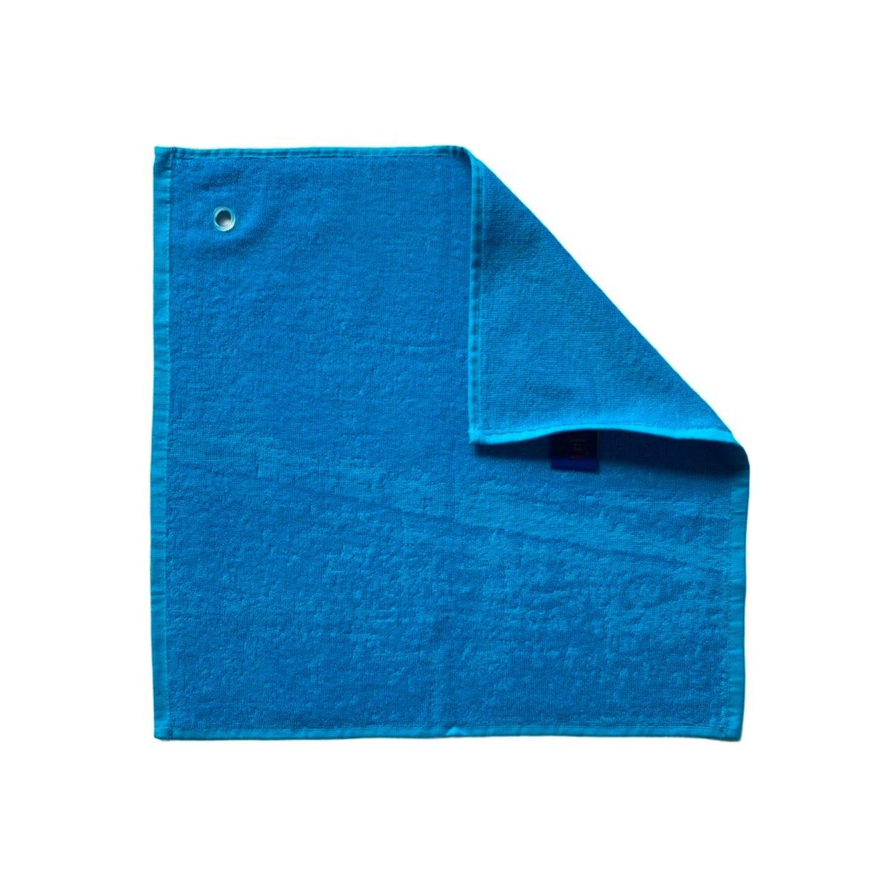 Essuie-mains cuisine uni turquoise 50 x 50  set de trois pièces