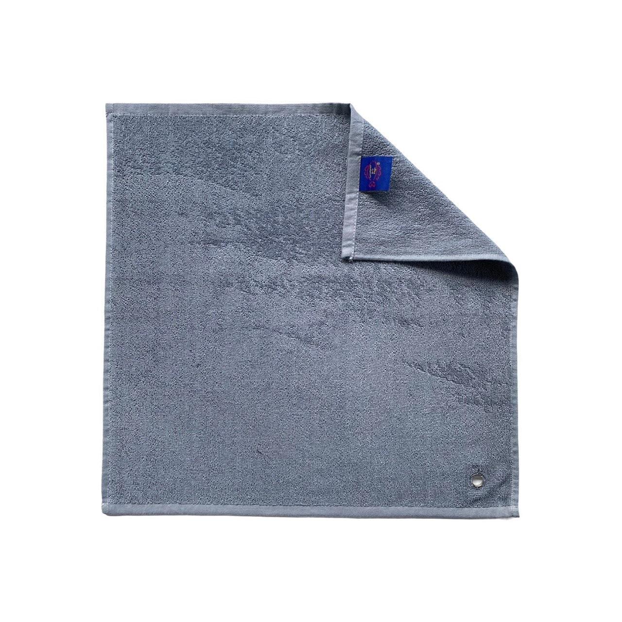 Essuie-mains cuisine uni gris 50 x 50 set de trois pièces