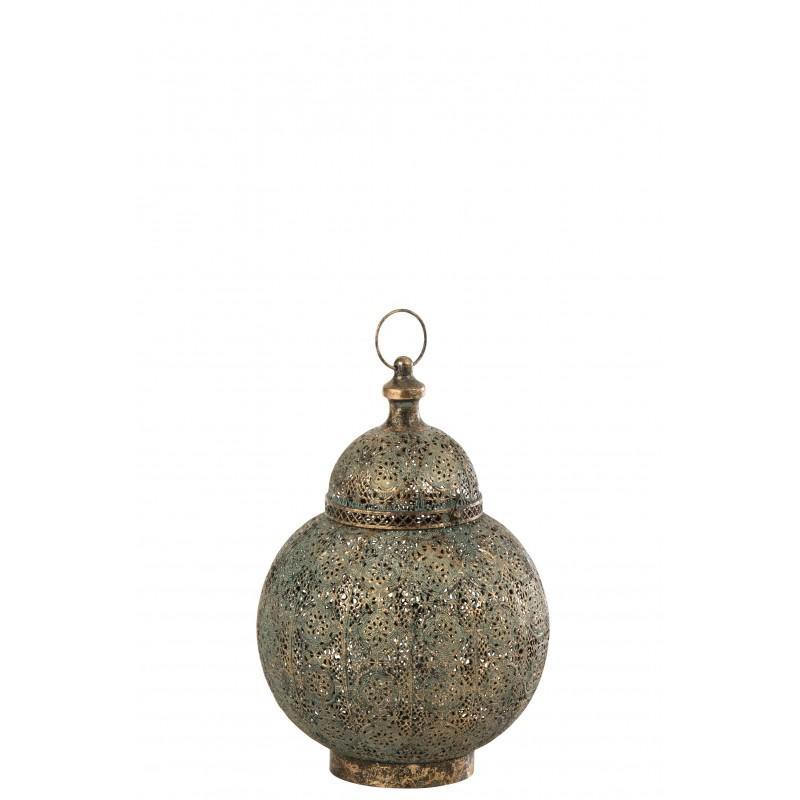 Lanterne métal mix H42,5cm