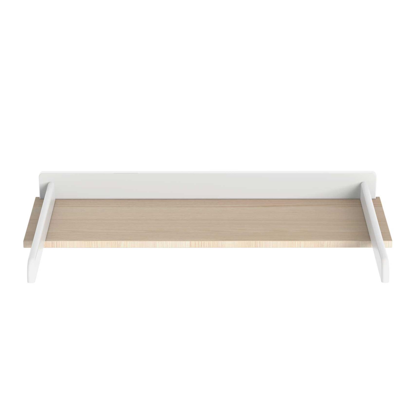 Plan à langer bébé Java en bois Blanc 91x32x9
