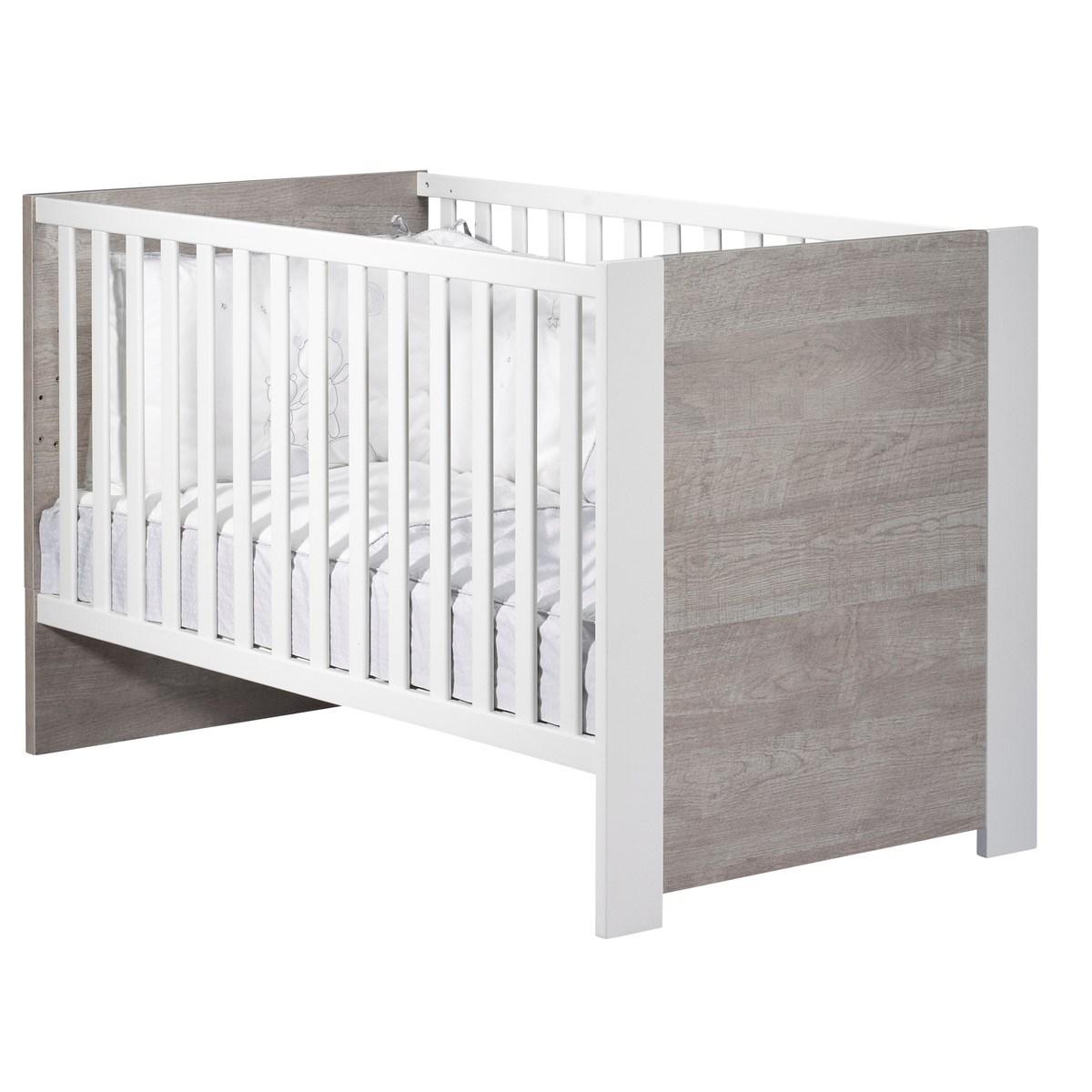 Lit 140x70 en bois blanc