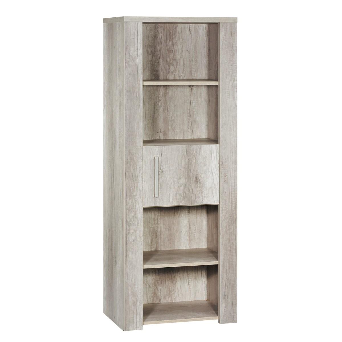 Meuble etagère bibliothèque en bois marron