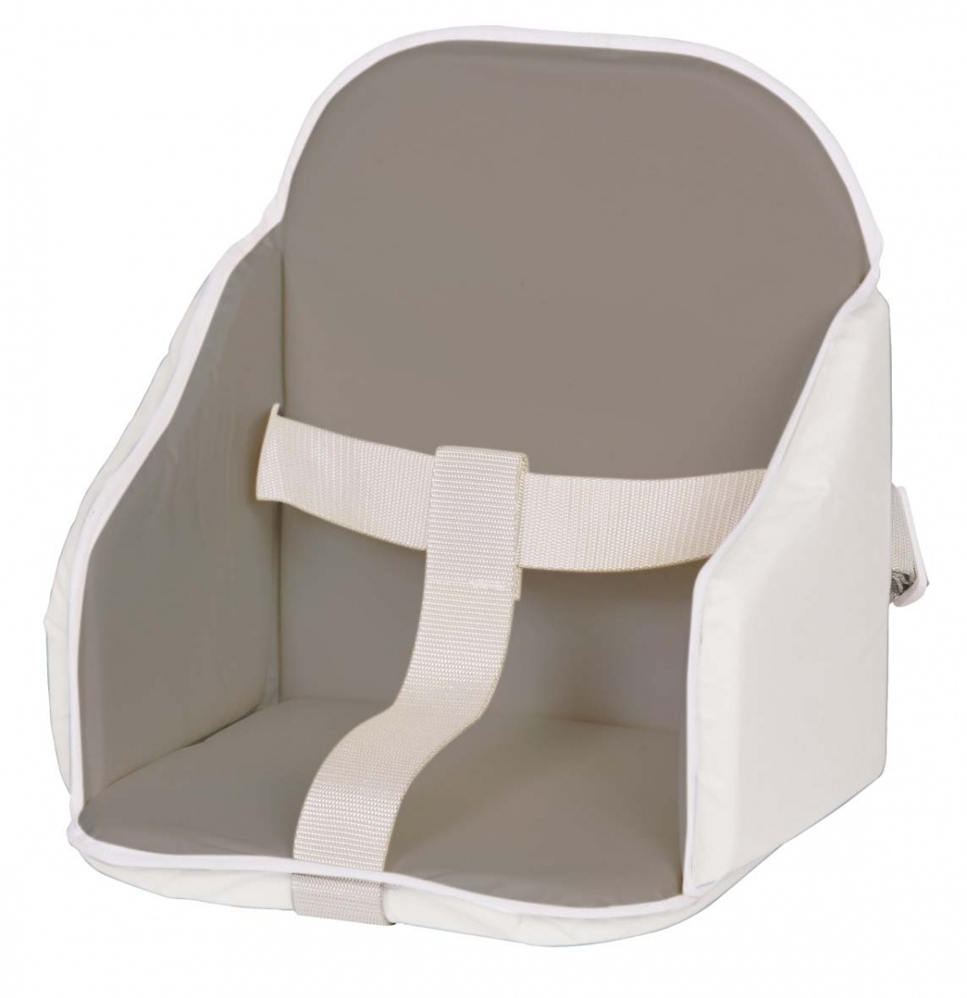 Coussin de chaise pvc gris