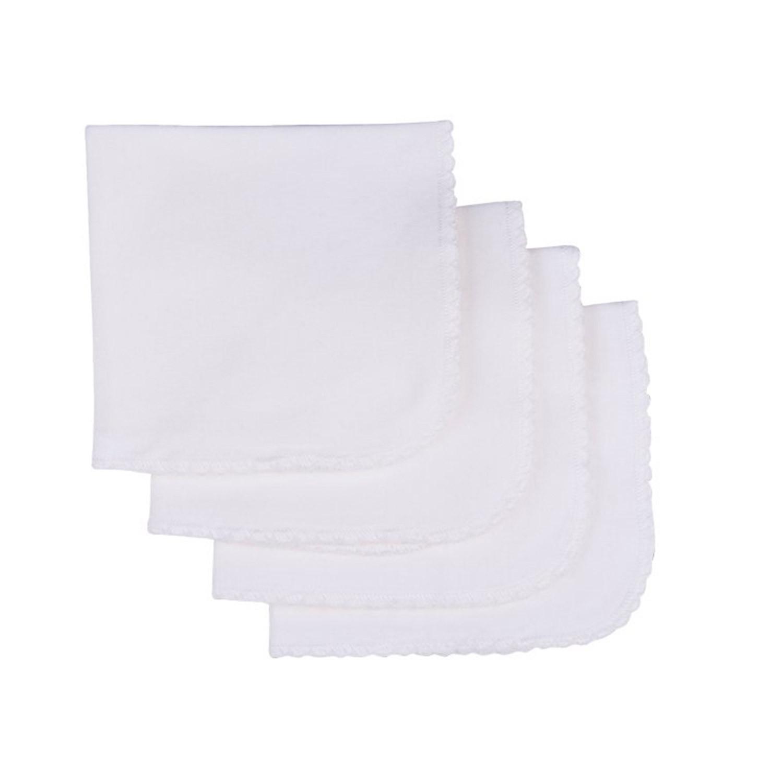 Lingettes lavables en coton biologique (lot de 4) écru bébé