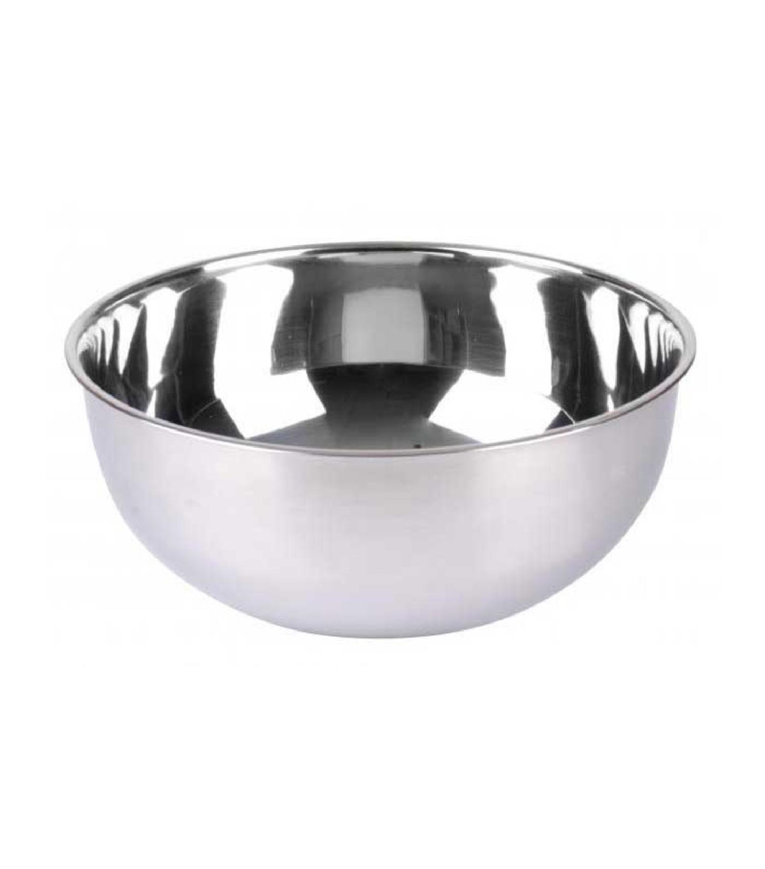 Bol préparation mélangeur / saladier inox D25cm