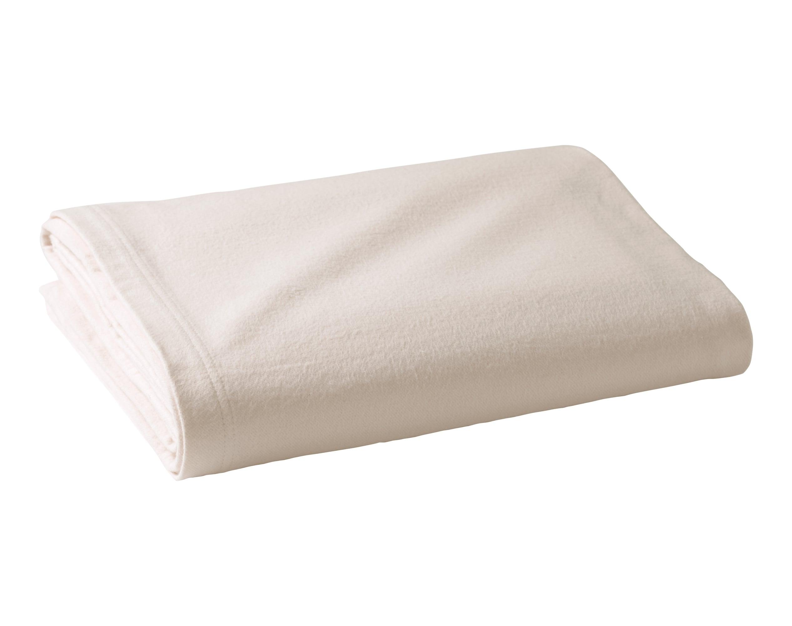 Couverture d'été 100x150 grise en coton