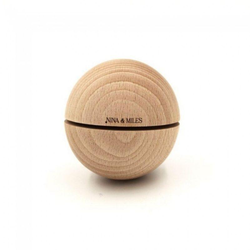 Boule sonore Montessori 50mm Timbre Blanc