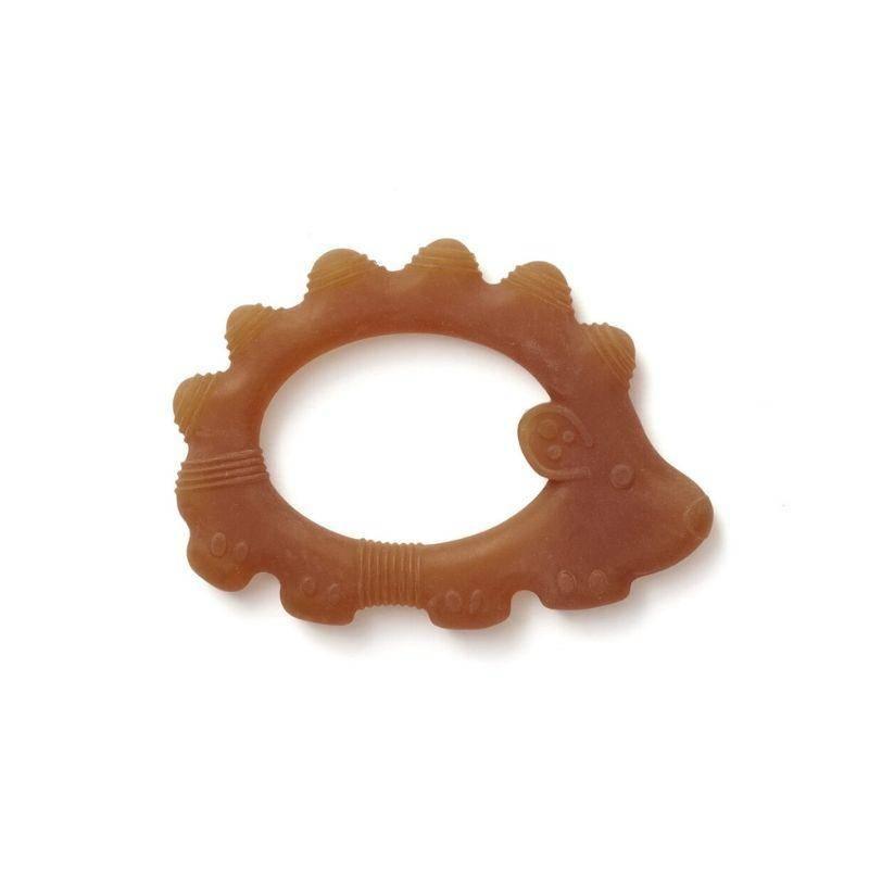 Anneau de dentition hérisson marron
