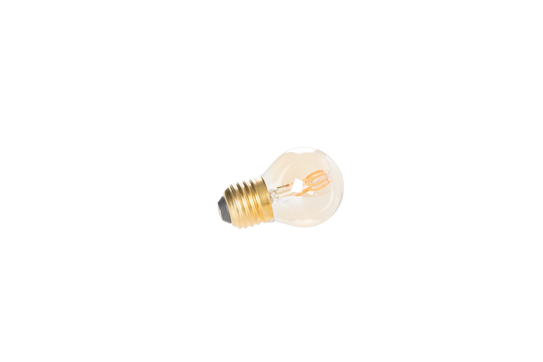 Mini ampoule LED E27 en verre transparent