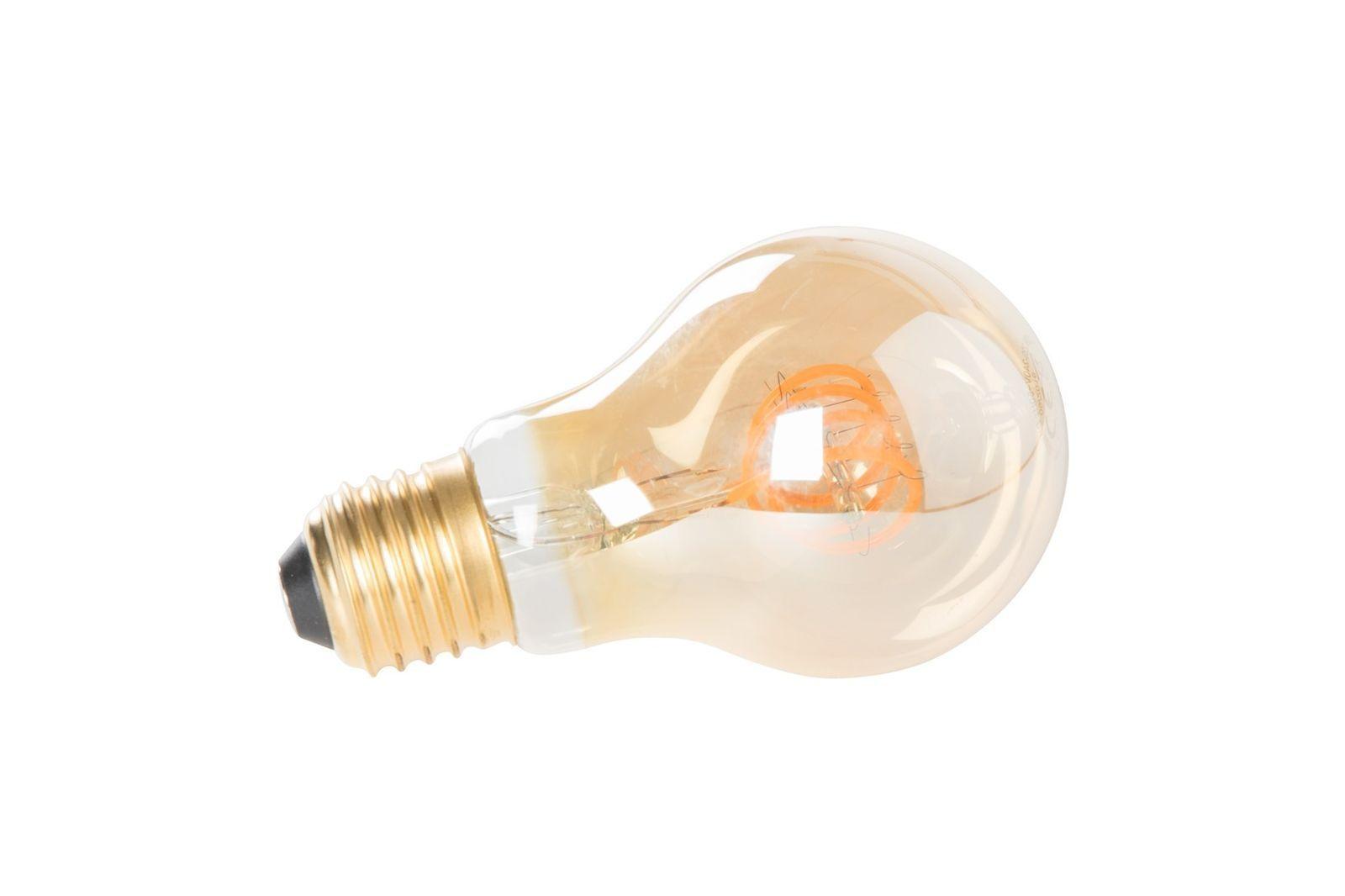 Petite ampoule LED E27 dimmable en verre transparent