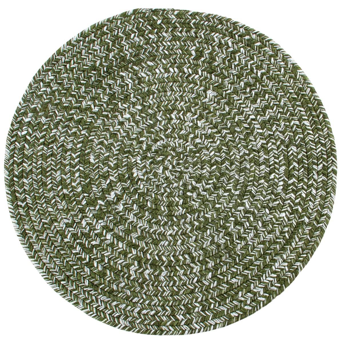 Tapis de salon en Polypropylène Vert olive 140x200 cm