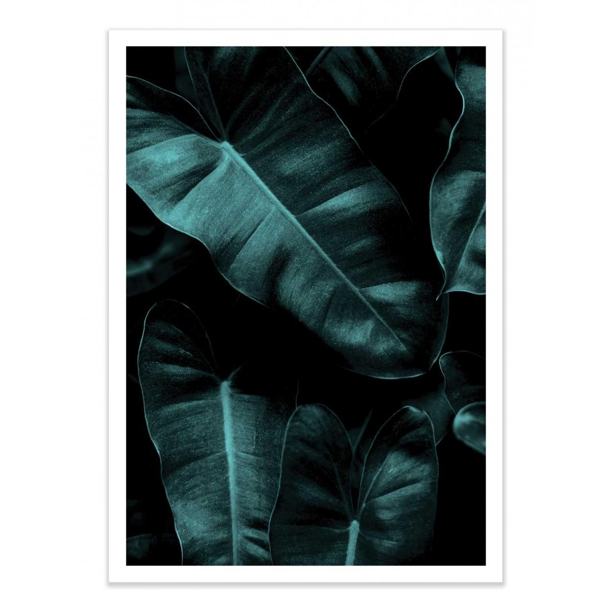 THE BEACH - KUBISTIKA - Affiche d'art 50 x 70 cm