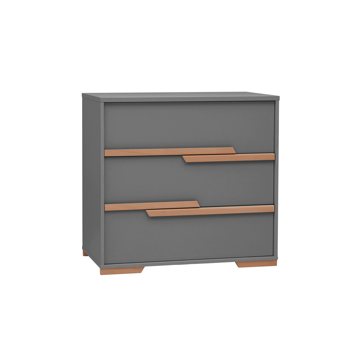 Commode gris bois