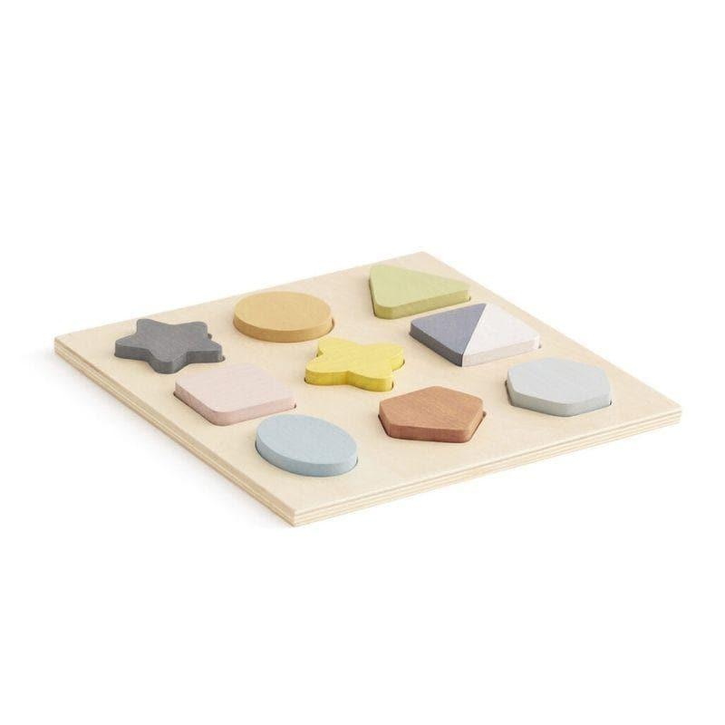 Puzzle en bois bébé multicolore