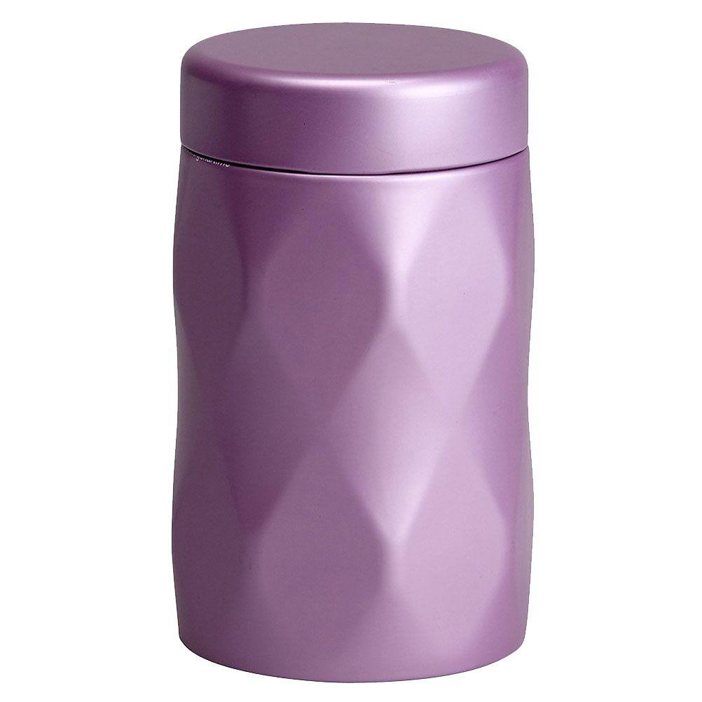 Petite boite métallique Lilas pour le thé 150G