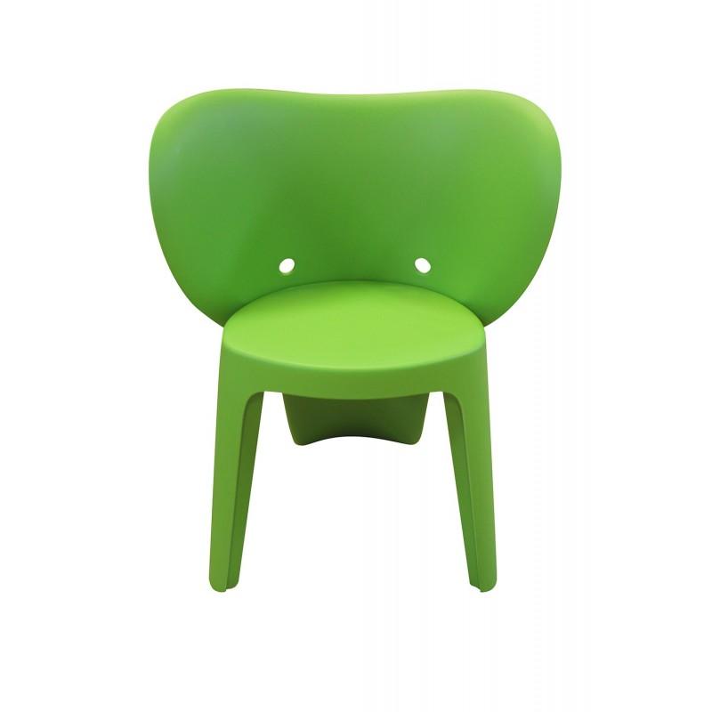 Chaise enfant vert