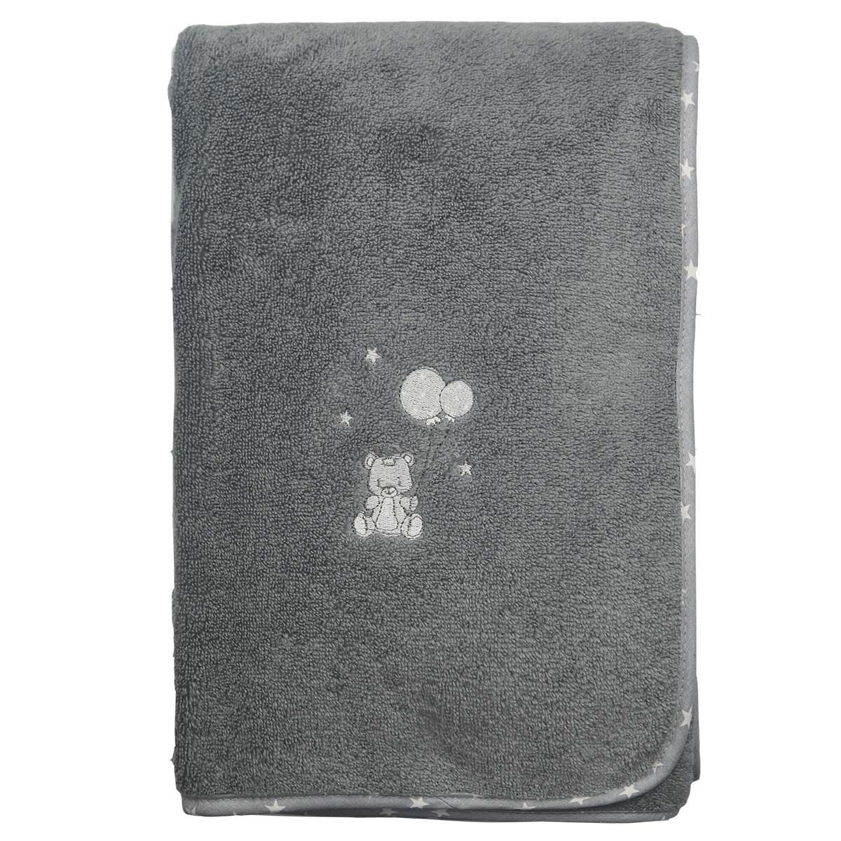Drap de bain en coton peigné  Galet 70x130 cm