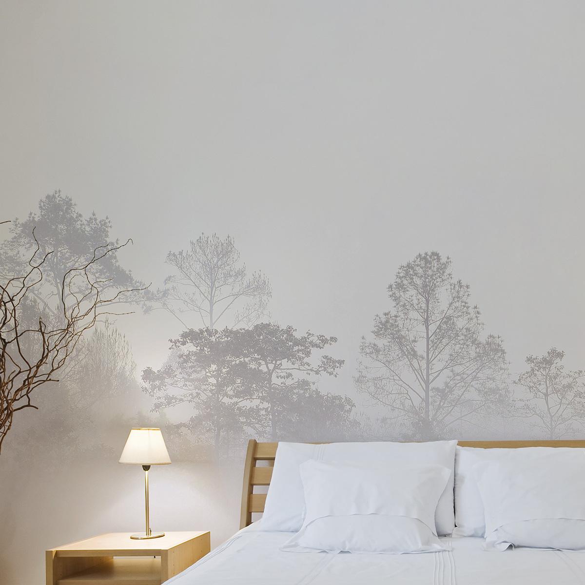 Papier peint panoramique quiet landscape 255x250cm