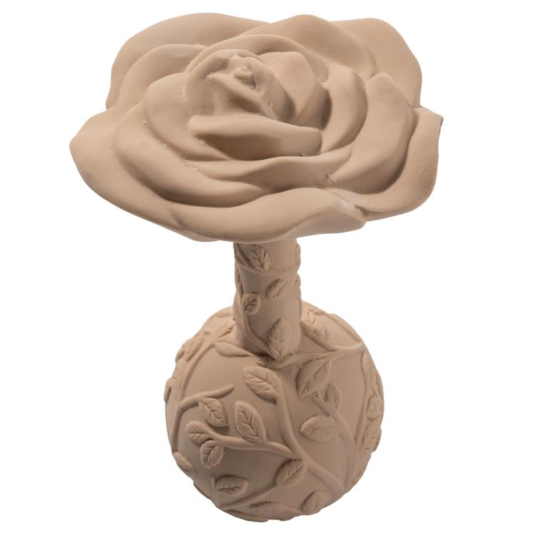 Hochet de dentition en caoutchouc naturel Rose