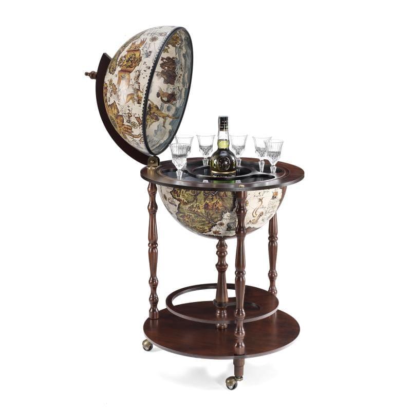 Globe bar de terre en style vintage D42cm