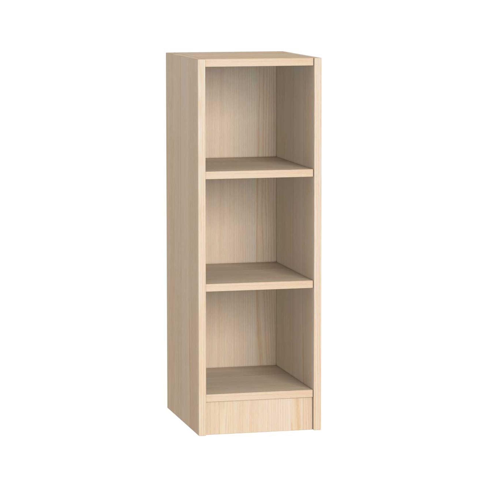 Etagère 3 niches enfant java en bois Blanc 30x36x89