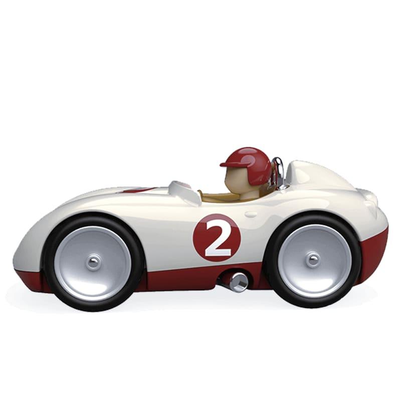 Petite voiture gris métalisé