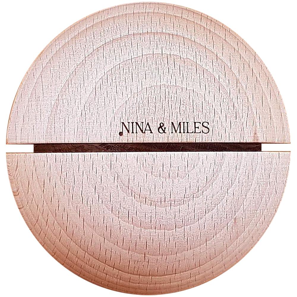 Boule sonore Montessori 70mm Timbre Blanc