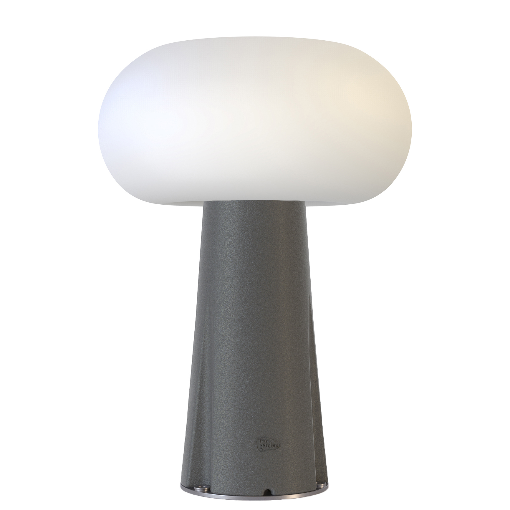 Lampe à poser extérieure solaire et filaire avec télécommande