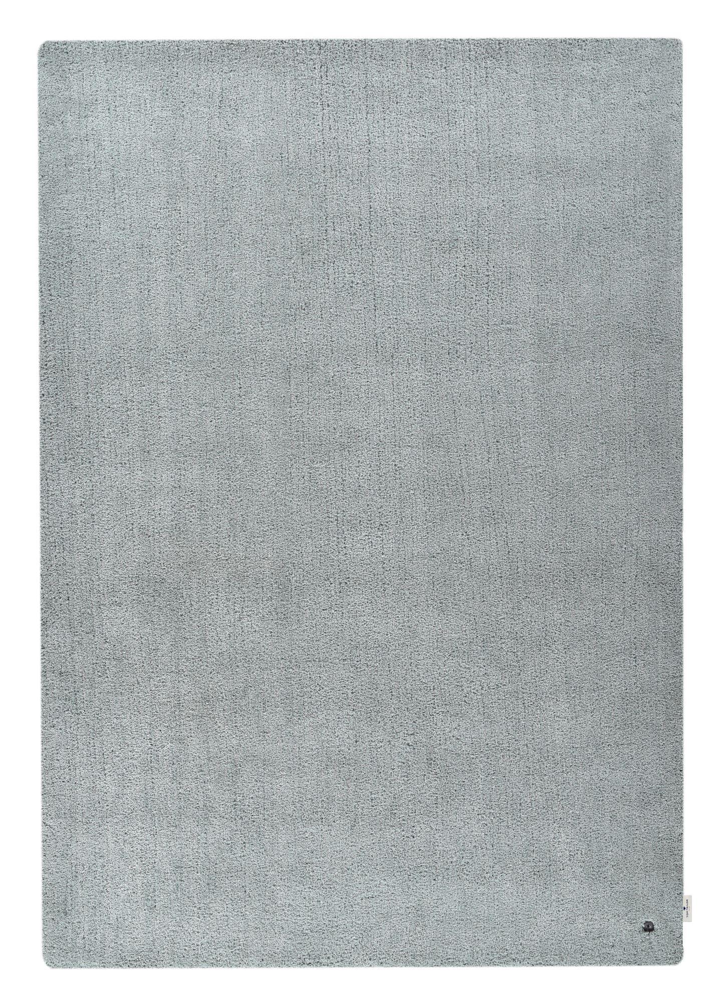 Tapis shaggy - tufté à la main - en polyester - menthe 50x80 cm