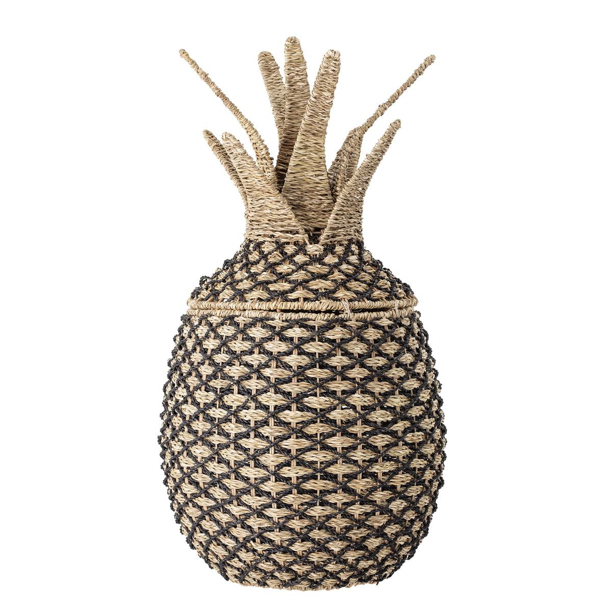 Grand panier ananas H80cm