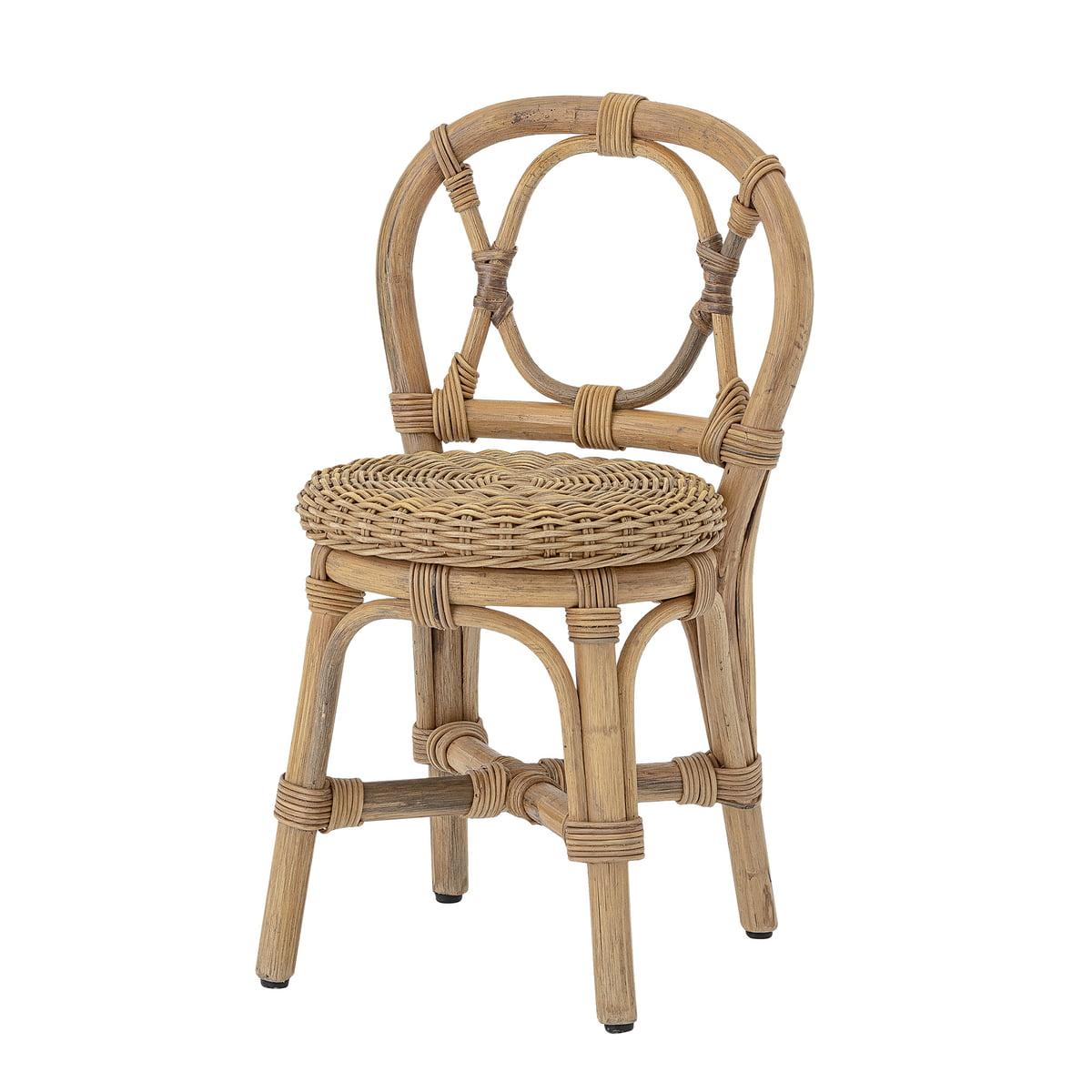 Mini chaise Lia en rotin