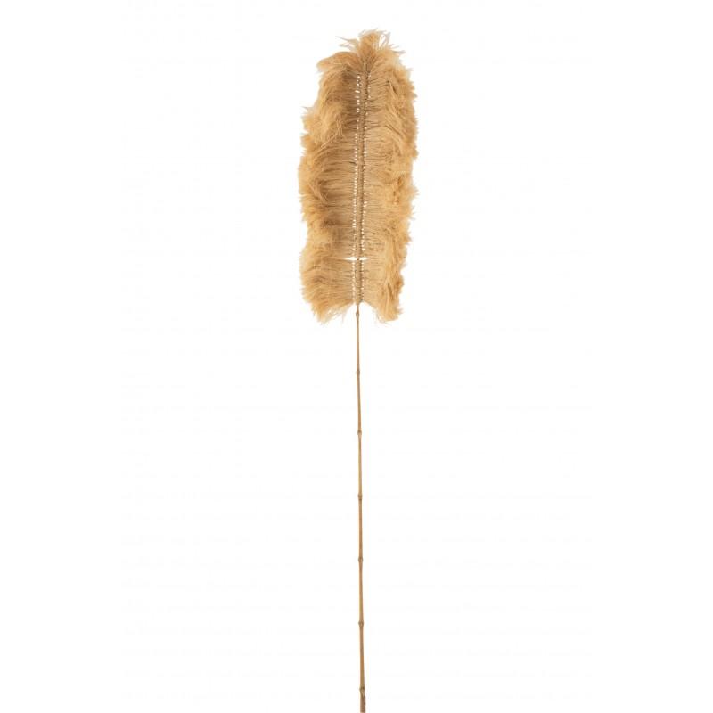 Branche herbe rotin beige H170cm