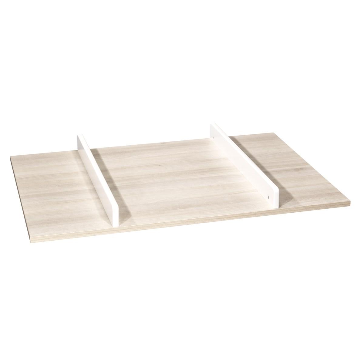 Plan à langer pour commode en bois beige